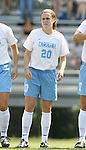 North Carolina's Heather O'Reilly on Sunday September 17th, 2006 at Koskinen Stadium on the campus of the Duke University in Durham, North Carolina. The University of North Carolina Tarheels defeated the University of Florida Gators 1-0 in an NCAA Division I Women's Soccer game.