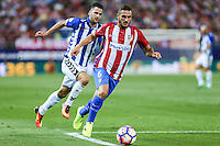 La Liga match between Atletico de Madrid and Deportivo Alaves