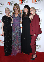 NEW YORK, NY-October 03:Michelle Williams, Laura Dern, Lily Gladstone and Kristen Stewart at 54th NewYork Film Festival premiere of Certain Women at Alice Tully Hall at Lincoln Center in New York.October 03, 2016. Credit:RW/MediaPunch