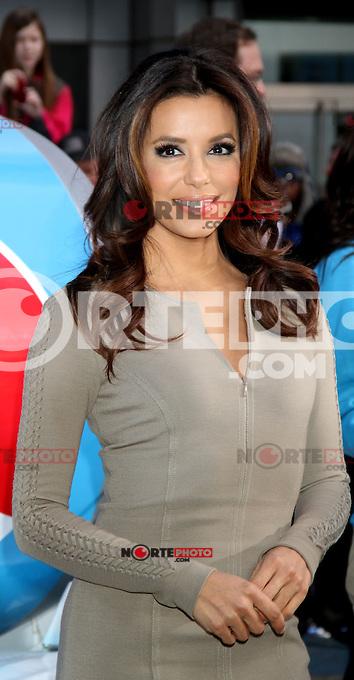 06*abril*2012* Eva Longoria durante un servicio neoyorquinos  presentando la  nueva Pepsi Next en Time Square de Nueva York .. <br /> (*Cr&eacute;dito:RWMediapunchinc/NortePhoto*)<br /> **SOLO*VENTA*EN*MEXiCO**<br /> **CREDITO OBLIGATORIO** <br /> *No*Venta*A*Terceros*<br /> *No*Sale*So*Shird*