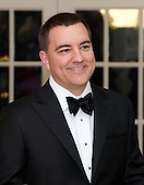 Joe Liemandt, President and CEO, arrives for the Official Dinner in honor of Prime Minister David Cameron of Great Britain and his wife, Samantha, at the White House in Washington, D.C. on Tuesday, March 14, 2012.  Mr. Liemandt is one of United States President Barack Obama's biggest campaign fundraisers..Credit: Ron Sachs / CNP.(RESTRICTION: NO New York or New Jersey Newspapers or newspapers within a 75 mile radius of New York City)