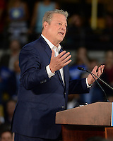 MIAMI, FL - OCTOBER 11: Former Vice President Al Gore during a rally to discuss climate Change on October 11, 2016 in Miami, Florida. Credit: mpi04/MediaPunch