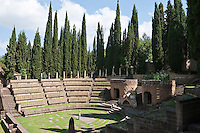 One of the features of La Scarzuola, also known as the Città Buzziana, is a spectacular amphitheatre