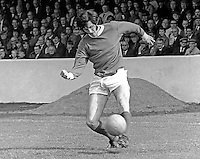 Billy Millan, footballer, Linfield FC, Belfast, N Ireland, August 1970. 1970080295BM2<br />
