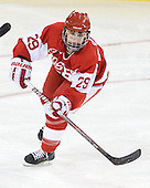 Marie-Philip Poulin (BU - 29) - The visiting Boston University Terriers defeated the Boston College Eagles 1-0 on Sunday, November 21, 2010, at Conte Forum in Chestnut Hill, Massachusetts.
