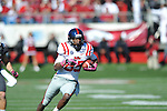 Ole Miss wide receiver Ja-Mes Logan (85) vs. Arkansas at War Memorial Stadium in Little Rock, Ark. on Saturday, October 27, 2012. Ole Miss won 30-27...