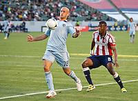 Club Deportivo Chivas USA vs Sporting Kansas City April 01 2012