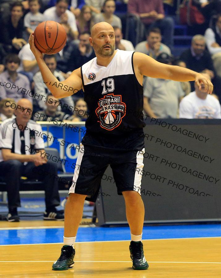 Kosarka season 2014-2015<br /> Partizan-Grobari za nas-Revijalni Mec<br /> Aleksandar Sasa Djordjevic<br /> Beograd, 11.03.2015.<br /> foto: Srdjan Stevanovic/Starsportphoto&copy;