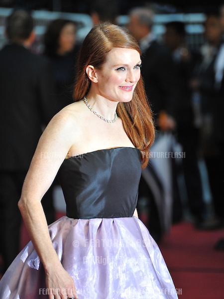 """Julianne Moore at the premiere of """"The Great Gatsby"""" the opening movie of the 66th Festival de Cannes..May 15, 2013  Cannes, France.Picture: Paul Smith / Featureflash"""