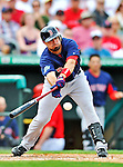 8 March 2012: Boston Red Sox outfielder Jason Repko in action during a Spring Training game against the St. Louis Cardinals at Roger Dean Stadium in Jupiter, Florida. The Cardinals defeated the Red Sox 9-3 in Grapefruit League action. Mandatory Credit: Ed Wolfstein Photo