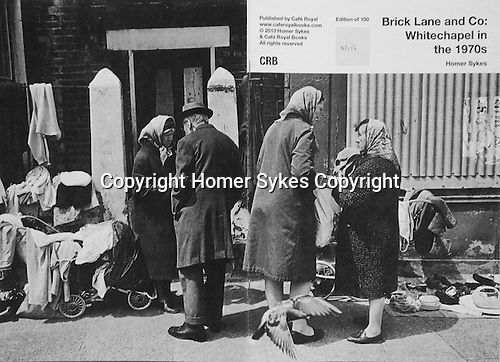 Brick Lane and Co: Whitechapel in the 1970s. <br /> PhotoZine published by Cafe Royal Books. Edition of 150. All book shop copies SOLD OUT, I have 2 left.  Published in 2013. 28 pages, staple bound, A5. <br /> <br /> &pound;35-00 including p&amp;p in UK.
