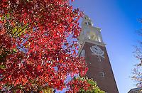 Ira Allen Chapel, UVM Campus Fall