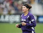 Portland's Kari Evans. The University of Portland Pilots defeated the UCLA Bruins 4-0 to win the NCAA Division I Women's Soccer Championship game at Aggie Soccer Stadium in College Station, TX, Sunday, December 4, 2005.