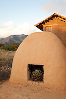 &quot;Earthen Agave Oven&quot;- This earthen agave oven is used in the making of tequila and ricea. Photographed near San Sebastian, Mexico.