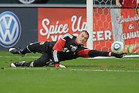 DC United goalkeeper Steve Cronin (1)     DC United tied The Colorado Rapids 1-1, at RFK Stadium, Saturday  May 14, 2011.