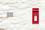 Letter box cottage. SW Coastal path nr Glendurgan.