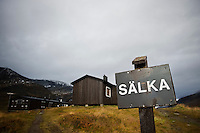 Sälka hut, Kungsleden trail, Lapland, Sweden