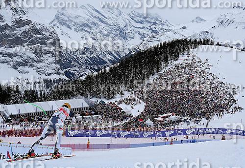 18.01.2014, Lauberhorn, Wengen, SUI, FIS Weltcup Ski Alpin, Wengen, Abfahrt, Herren, im Bild Max Franz (AUT) // in action during the downhill of the Wengen FIS Ski Alpine World Cup at the Lauberhorn in Wengen, Switzerland on 2014/01/18. EXPA Pictures &copy; 2014, PhotoCredit: EXPA/ Freshfocus/ Christian Pfander<br /> <br /> *****ATTENTION - for AUT, SLO, CRO, SRB, BIH, MAZ only*****
