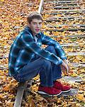 Silas Senior Portrait