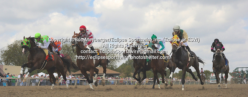 Scenes from around the track on Pennsylvania Derby Day on September 20, 2014 at Parx Racing in Bensalem, Pennsylvania.  (Bob Mayberger/Eclipse Sportswire)