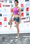 Model Nahcole Attends Bikini Under The Bridge 2013 Fashion Show Held in BAM Parking Lot, Brooklyn NY