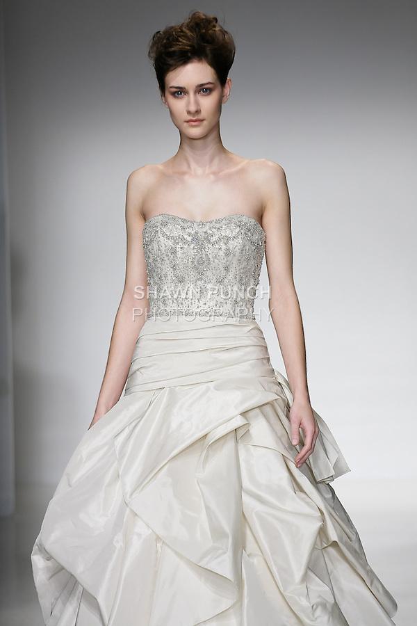 Kenneth pool bridal spring 2012 shawn punch for Amsale aberra wedding dresses