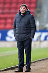 St Johnstone v Stenhousemuir&hellip;21.01.17  McDiarmid Park  Scottish Cup<br />Saints boss Tommy Wright<br />Picture by Graeme Hart.<br />Copyright Perthshire Picture Agency<br />Tel: 01738 623350  Mobile: 07990 594431