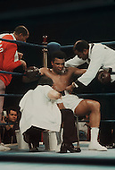 Jan 23, 1974, Madison Square Garden, NY. The revenge match between Muhammad Ali and Joe Frazier. Ali won this match.