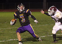Football vs Wes-Del 10-17-09