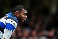 Semesa Rokoduguni of Bath Rugby looks on. Aviva Premiership match, between Bath Rugby and Saracens on December 3, 2016 at the Recreation Ground in Bath, England. Photo by: Patrick Khachfe / Onside Images