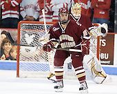 Steven Whitney (BC - 21) - The visiting Boston College Eagles defeated the Boston University Terriers 3-2 to sweep their Hockey East series on Friday, January 21, 2011, at Agganis Arena in Boston, Massachusetts.