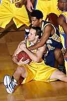 SAN ANTONIO, TX - FEBRUARY 9, 2008: The St. Edward's University Hilltoppers vs. the St. Mary's University Rattlers Men's Basketball at Bill Greehey Arena. (Photo by Jeff Huehn)