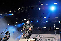 DERBYSHIRE, ENGLAND - AUGUST 12: Tomasz Wr&oacute;blewski of 'Behemoth' performing at Bloodstock Open Air Festival, Catton Park on August 12, 2016 in Derbyshire, England.<br /> CAP/MAR<br /> &copy;MAR/Capital Pictures /MediaPunch ***NORTH AND SOUTH AMERICAS ONLY***