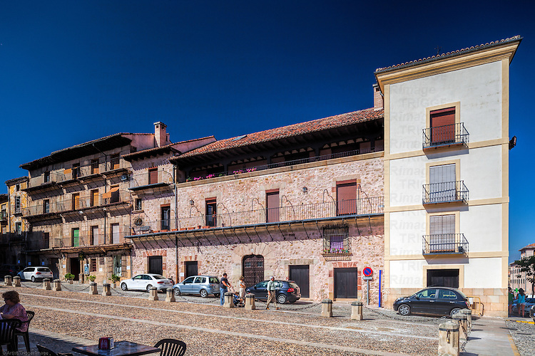 Plaza Mayor (Main Square), Sigüenza, Guadalajara, Spain