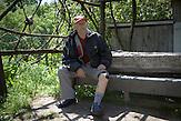 Dugo Polje. Trifun Bosic was injured in a landmine incident in 1992 during war.