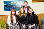 Attending the Lee Strand Garda Youth Achievement Awards at Ballyroe Heights Hotel on Friday were  Elaine O'Connor, Laura O'Connor, Emma O'Connor and John O'Connor