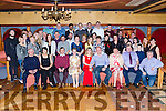 Kieran Kelliher Kilcummin and Siobhain Mahony Firies who celebrated their engagement with their family and in the Killarney Avenue Hotel on Saturday night