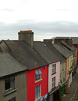Colourful houses in Athlone Ireland