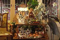 Europe/France/Champagne-Ardenne/51/Marne/Epernay : Maison de Champagne Perrier-Jouet - Maison Belle Epoque - Réception autour du champagne