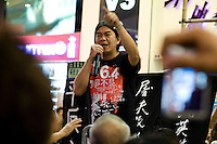 "Famous militant Leung Kwok-hung, also called ""Longhair"" member of the League of Social Democrats is calling hongkongers to participate to the vigil for the anniversary of Tiananmen June 4th crackdown hold in Hong Kong. He is regulary oppposed to Hk's government who wants to delay democratic reforms and universal suffrage in the island."