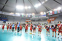 Japan team group (JPN), OCTOBER 31, 2011 - Handball : Japan team after the Asian Men's Qualification for the London 2012 Olympic Games semifinal match between Japan 22-21 Saudi Arabia in Seoul, South Korea.  (Photo by Takahisa Hirano/AFLO)