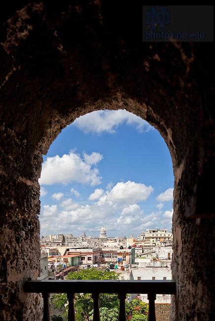Sept. 5, 2011; Havana, Cuba..Photo by Matt Cashore/University of Notre Dame