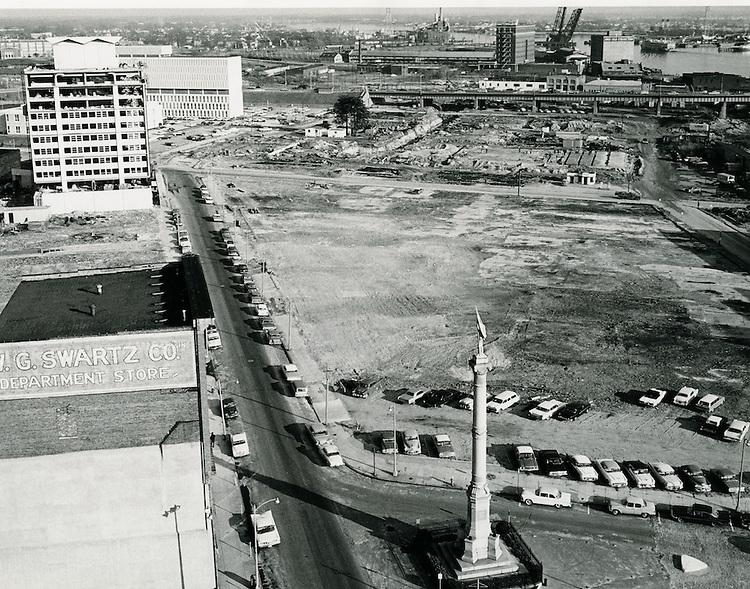 1963 February 08.UNDATED..Redevelopment.Downtown South (R-9)..Commercial Place.Financial District.Main Street..Virginian Pilot Dolwick.NEG#..