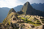 South America, Peru. Machu PIcchu, a UNESCO World Heritage Site.