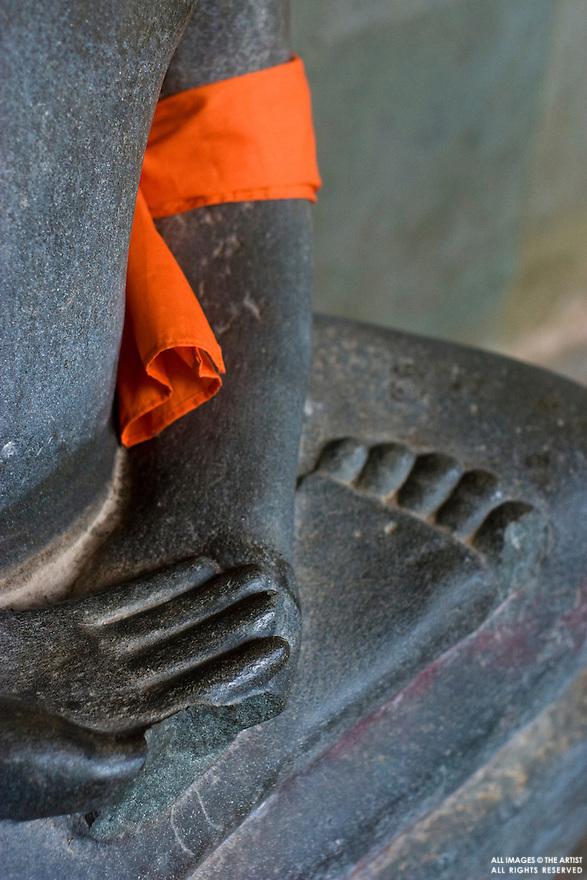 Buddha statue at Angkor Wat