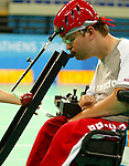 Paul Gauthier from Vancouver Bc, won the gold today in boccia.<br />
