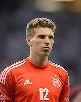 FUSSBALL Nationalmannschaft Freundschaftsspiel:  Deutschland - Argentinien             15.08.2012 Torwart Ron Robert Zieler (Deutschland)