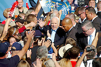 11/03/08--TAMPA--Senator John McCain wraps up The Road to Victory Rally at Raymond James Stadium this morning. Photo by Julie Busch Branaman