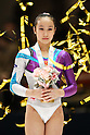 Huang Qiushuang (CHN), November 26, 2011 - Artistic Gymnastics : FIG Artistic Gymnastics World Cup, Tokyo Cup 2011 Women's Individual All-round Medal Ceremony at Ryogoku-kokugikan, Tokyo, Japan. (Photo by Daiju Kitamura/AFLO SPORT) [1045]