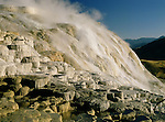 Upper Terrace, Mammoth Hot Springs, Yellowstone National Park, Wyoming